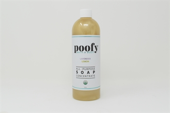 Picture of Lavender Lemon All Purpose Soap Concentrate Organic